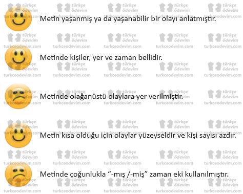 6. Sınıf MEB Yayınları Affet Babacığım Metni Etkinlik Cevapları - Metnin Türü ile İlgili Açıklamalar