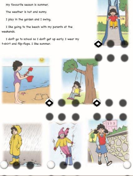 6. Sınıf Ada Yayınevi İngilizce Çalışma Kitabı ( Workbook) Unit 4 Weather and emotions Cevapları - 7