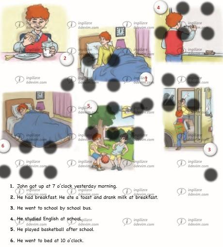 6. Sınıf Ada Yayınları İngilizce Çalışma Kitabı (Workbook) Unit 6 Vacation Cevapları - 1