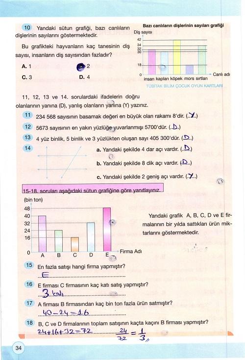 4 sinif yakin cag matematik calisma kitabi sayfa 34 ders ve calisma kitaplari e okul