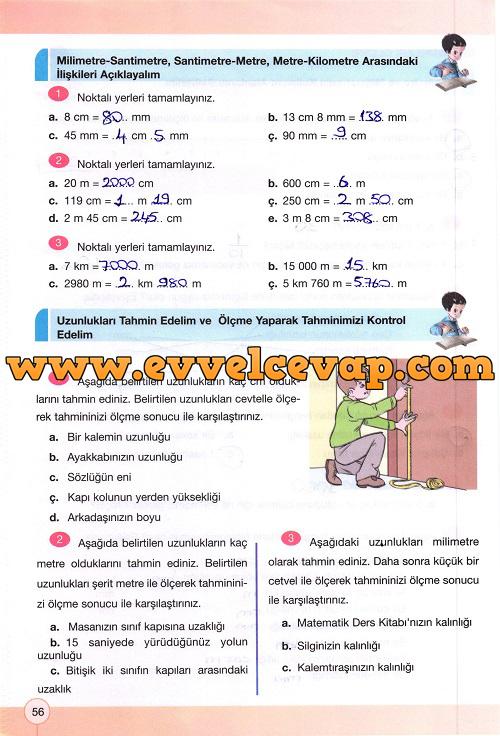 4 sinif yakin cag matematik calisma kitabi sayfa 56 ders ve calisma kitaplari e okul