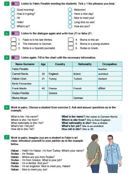 9 Sınıf Ingilizce Ders Kitabı Meb Yayınları Sayfa 15 Ders Ve