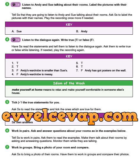 9 Sınıf Ingilizce Ders Kitabı Meb Yayınları Sayfa 27 Ders Ve